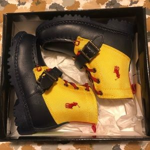 New in Box Polo by Ralph Lauren toddler boots